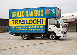 furgone cassonato per traslochi
