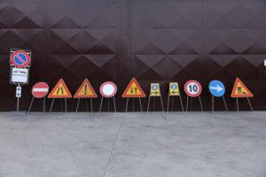 cartelli stradali a noleggio